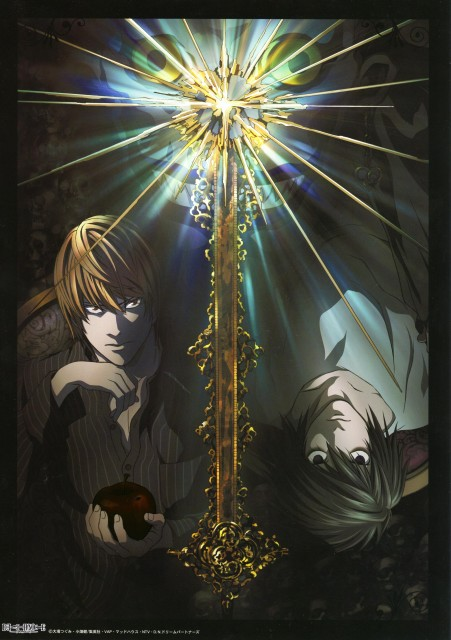 Death Note. Light, L y Ryuk